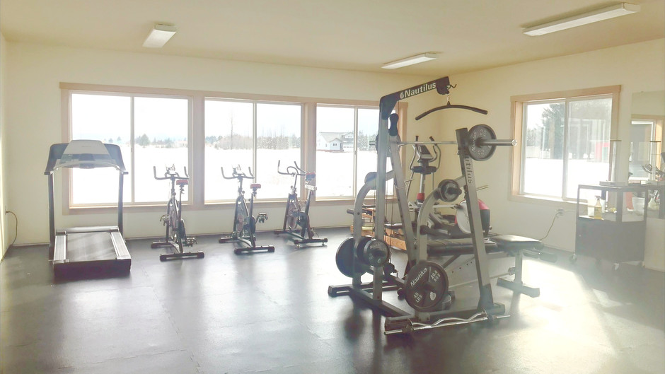 Fitness Center is OPEN!
