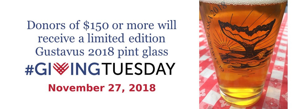 Free Pint Glass with $150 Donation