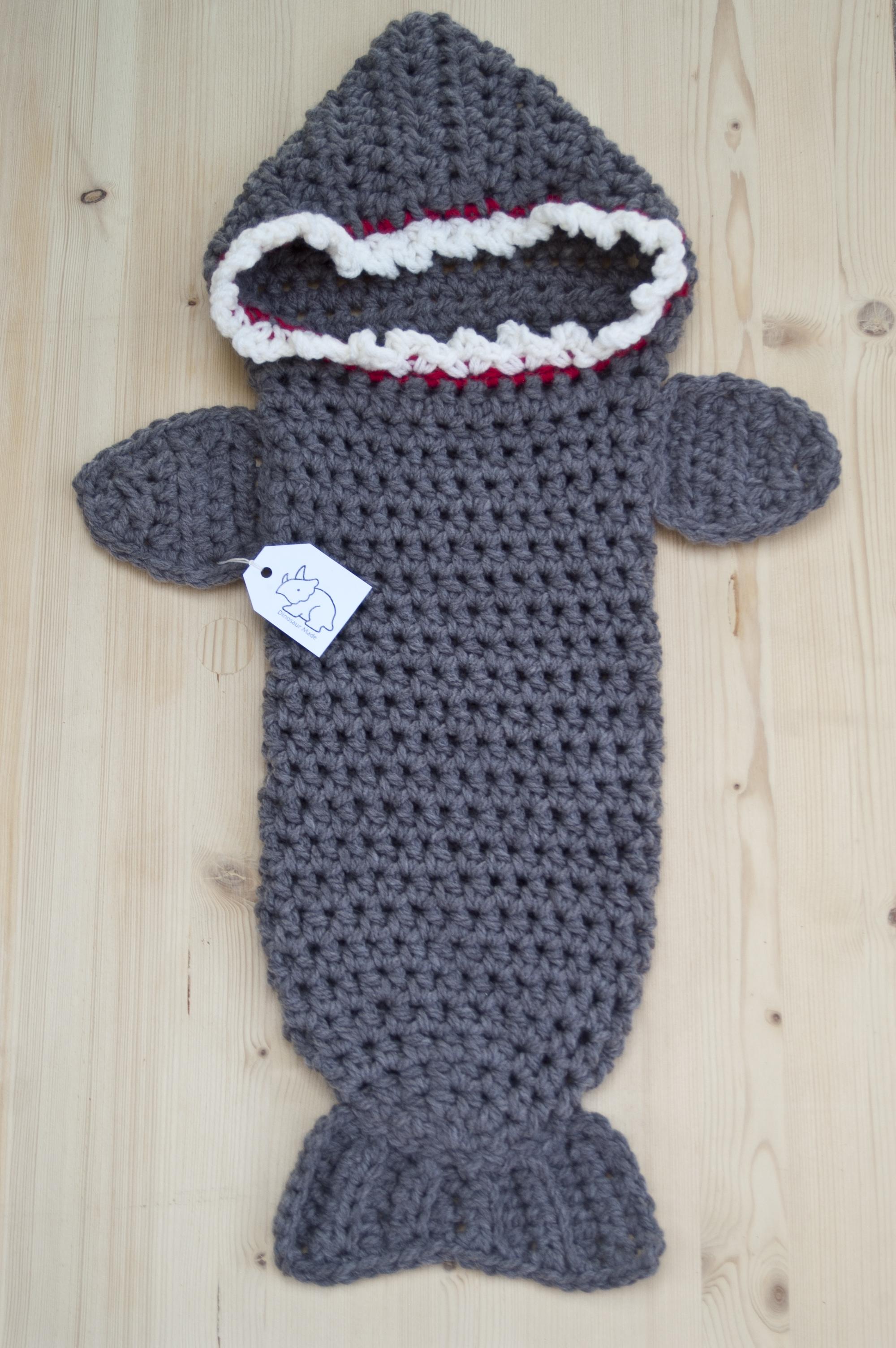 Shark Cocoon Sack Dinosaur Made