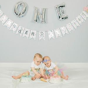 Brayden + Brynley 1st  Birthday