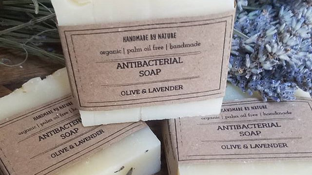 Antibacterial Olive & Lavender Soap