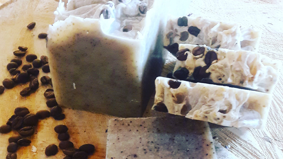 Recycled Coffee Grounds Soap