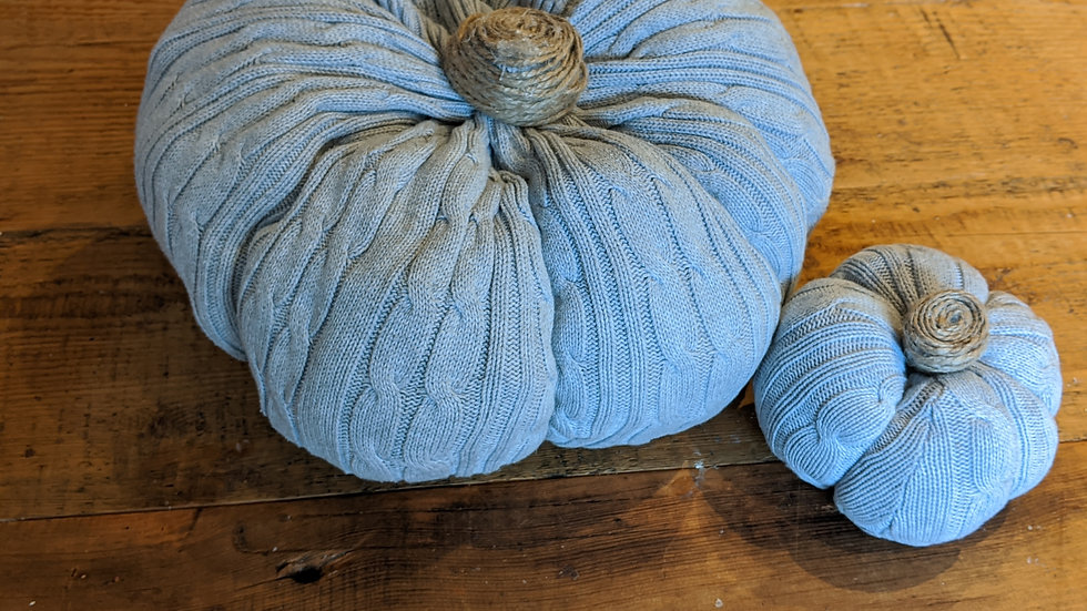 Grey Recycled Pumpkin