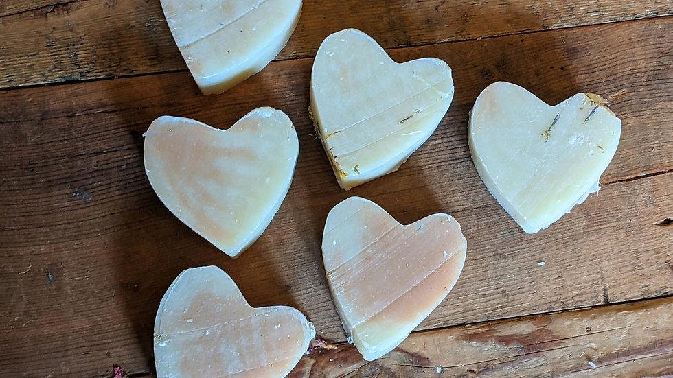 Heart Shaped Soap 🖤