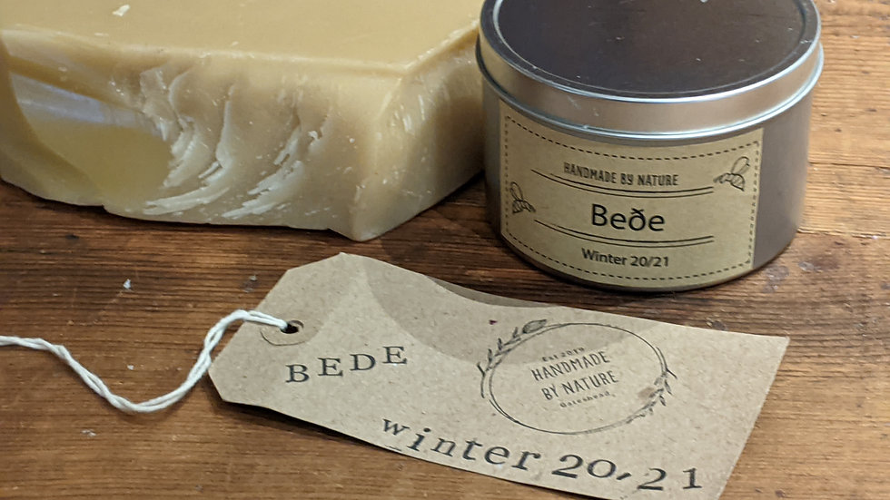 BEDE Beeswax Candle