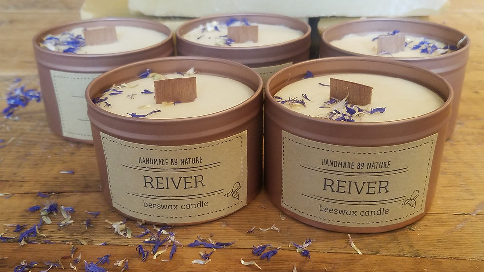 Reiver Beeswax Candle