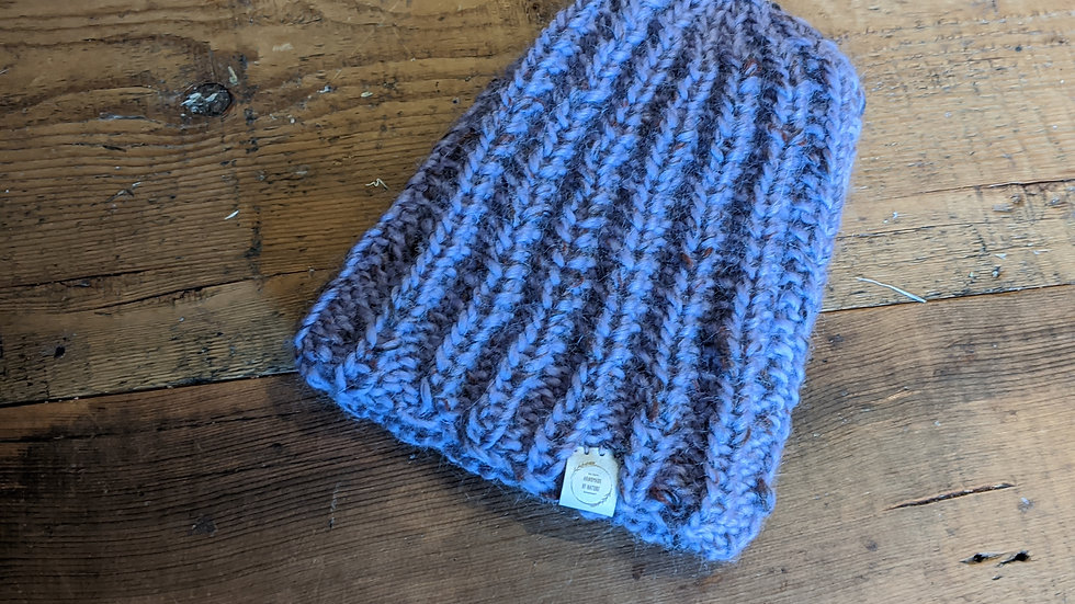 Hand knitted Wooly Hat
