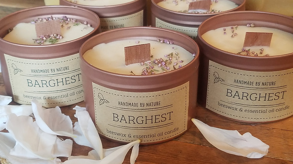 Barghest Beeswax Candle