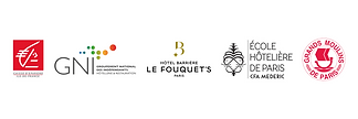Logos des soutiens des Lumières de Paris - Institut International