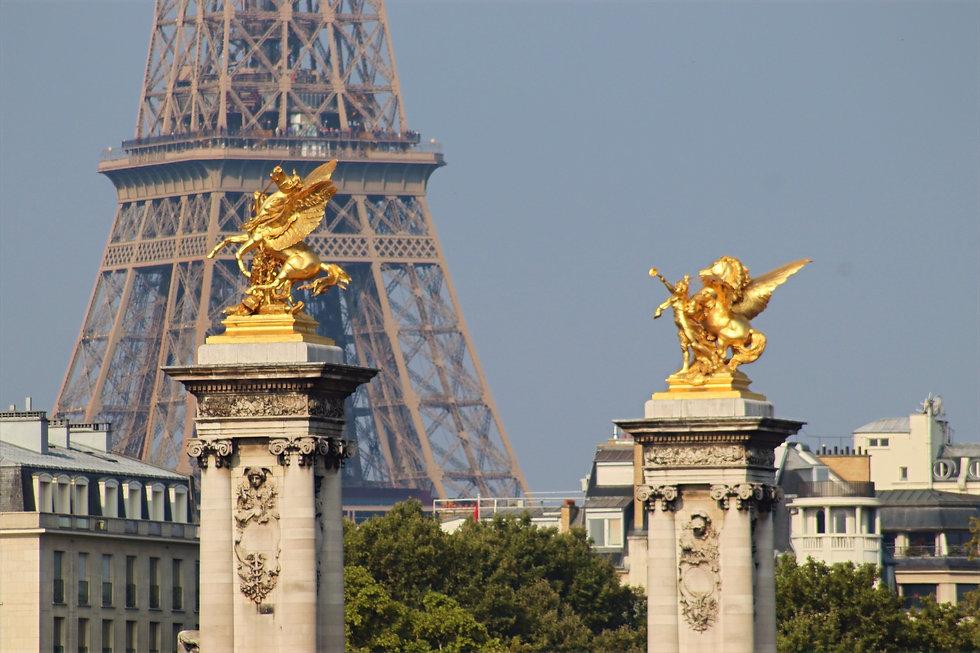 Perspective sur la Tour Eiffel