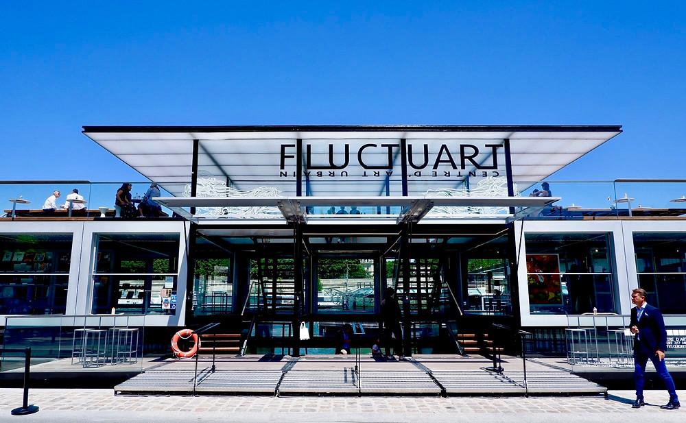 L'entrée de Fluctuart (DR Fluctuart)
