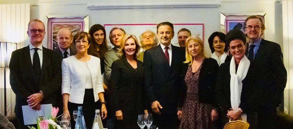 """Les membres du jury """"Les Lumières de Paris"""""""