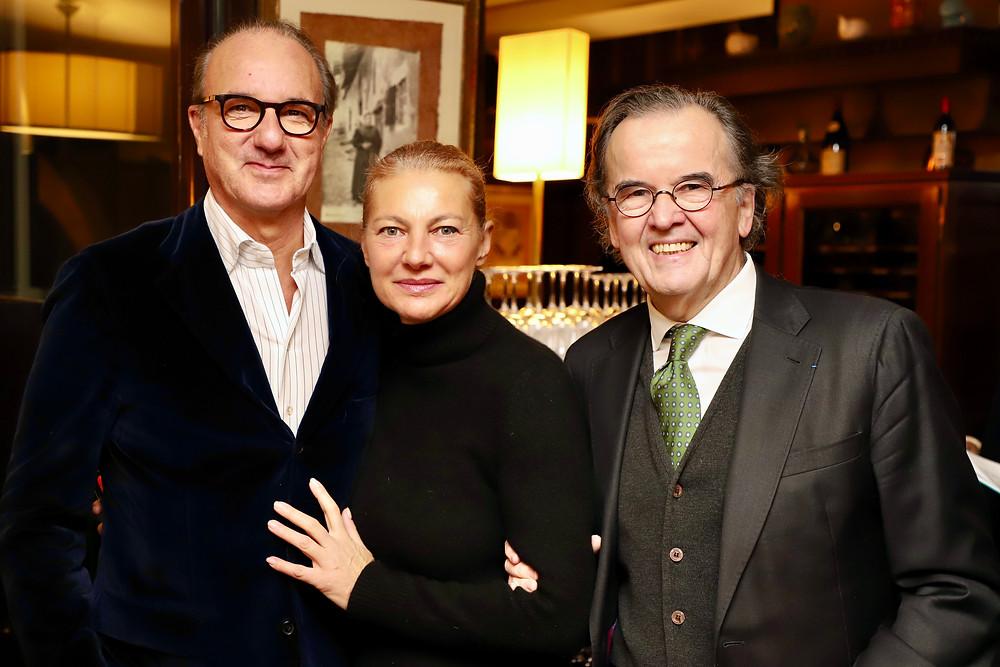 Thierry BOUËT et son épouse, Alain CARADEUC