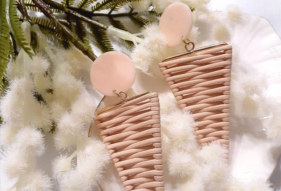 Rose Tringle Earrings