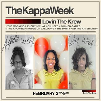 TheKappaWeek: Flyer