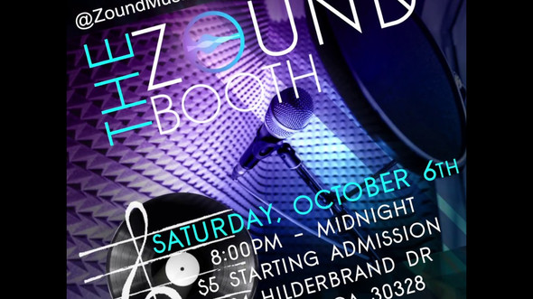 ZOUND Music Group presents: the ZOUND Booth Motion Flyer