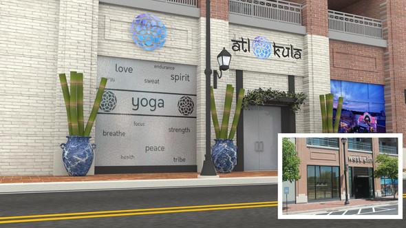 atl kula: 3D Storefront Render