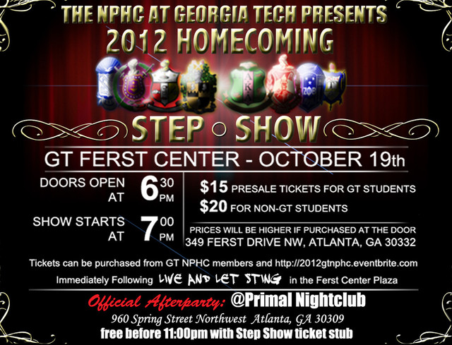 NPHC Step Show: Flyer