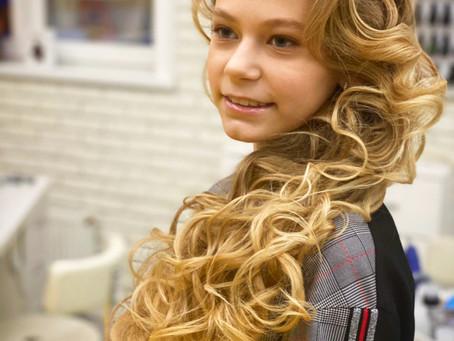 Укладка / Локоны на длинные волосы / Мастерская красоты SOVA в Митино