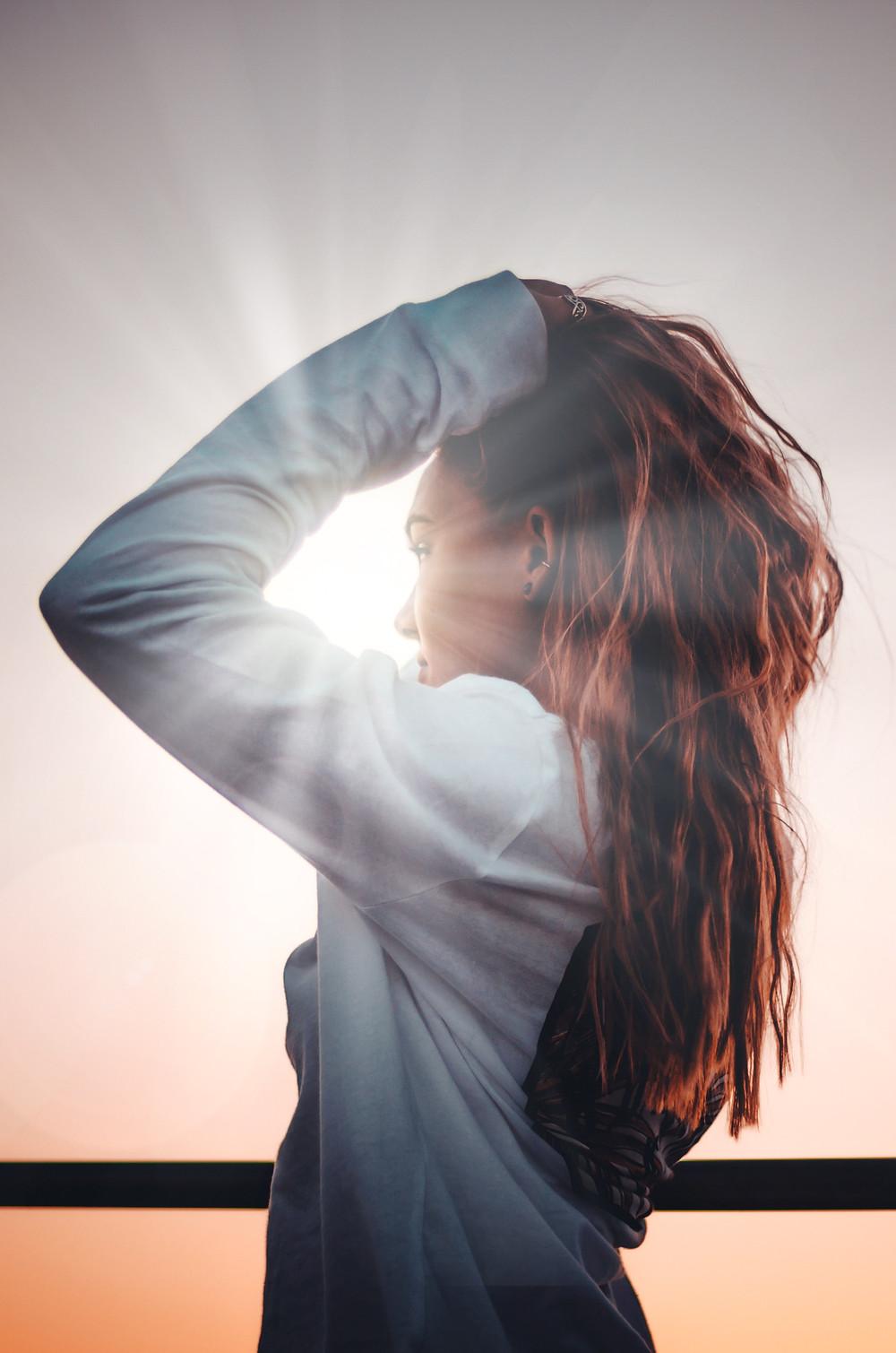 Защита волос от солнца. Помните об этом летом