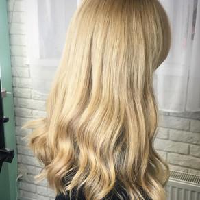 Длинные волосы натурального цвета. Вот где живёт весна!