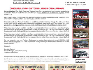 Reach Your Customer With A Wallet Card