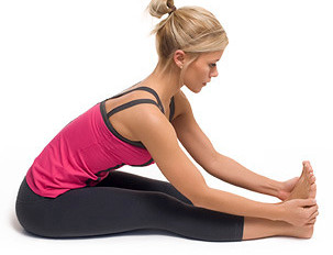 Summer's here!  Yoga postures for tired travellers.