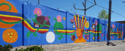 Finished Mural on Zuni