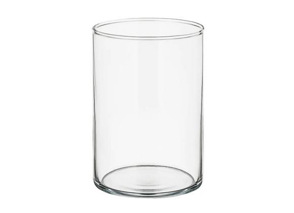 Glass Vase, 7in