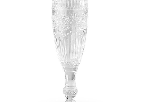 Vintage Style Champagne Flute