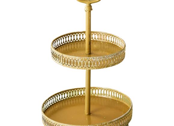 Gold Dessert Tray