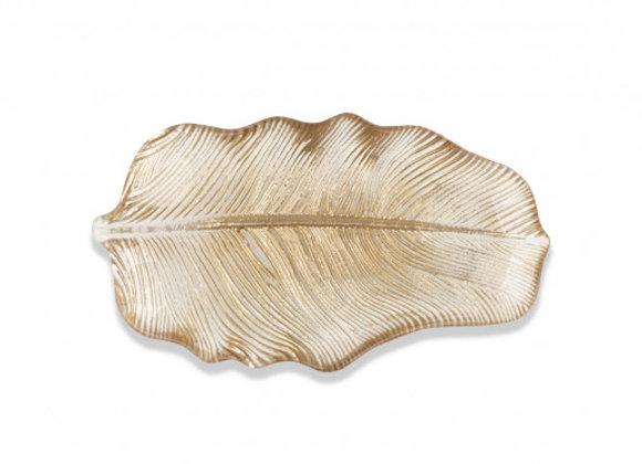Gold Leaf Tray, Small