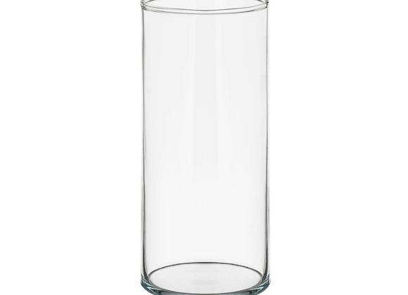 Glass Vase, 9in