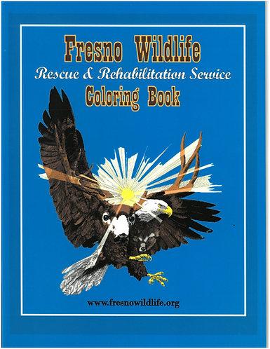 Fresno Wildlife Coloring book