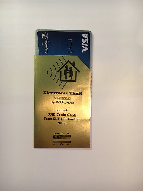 RFID Credit Card Shield