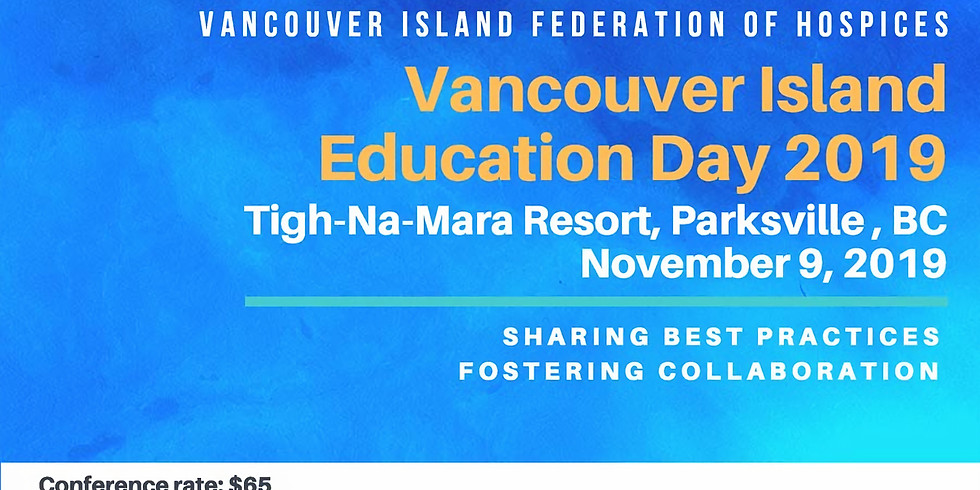 Vancouver Island Hospice Education Day 2019