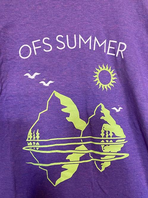 OFS Summer T-Shirt, Purple