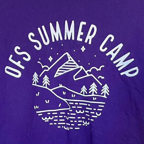 OFS Summer Camp T-Shirt, Purple