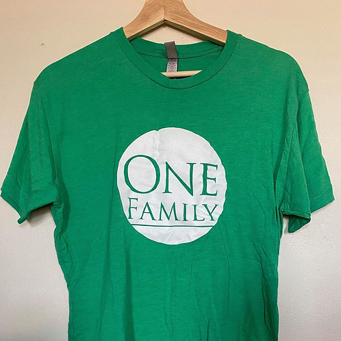 One Family T-Shirt, Green