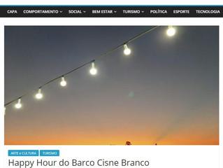 Happy Hour do Barco Cisne Branco