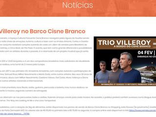 Trio Villeroy no Barco Cisne Branco