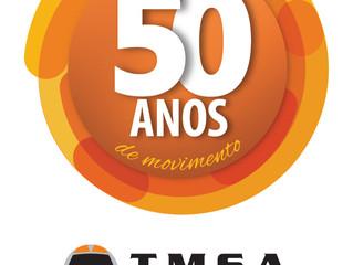 TMSA recebe parceiros e fornecedores para comemorar 50 anos