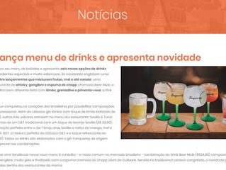 Outback lança menu de drinks e apresenta novidade