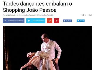 Tardes dançantes embalam o Shopping João Pessoa