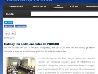 Holiday Inn sedia encontro do PROERD