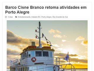Barco Cisne Branco retoma atividades em Porto Alegre