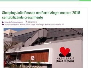 Shopping João Pessoa em Porto Alegre encerra 2018 contabilizando crescimento