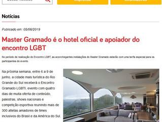 Master Gramado é o hotel oficial e apoiador do encontro LGBT