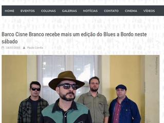 Barco Cisne Branco recebe mais um edição do Blues a Bordo neste sábado