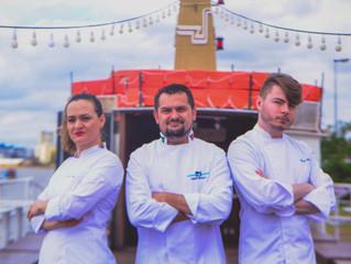 Cisne Branco recebe participantes gaúchos do Master Chef para jantar especial